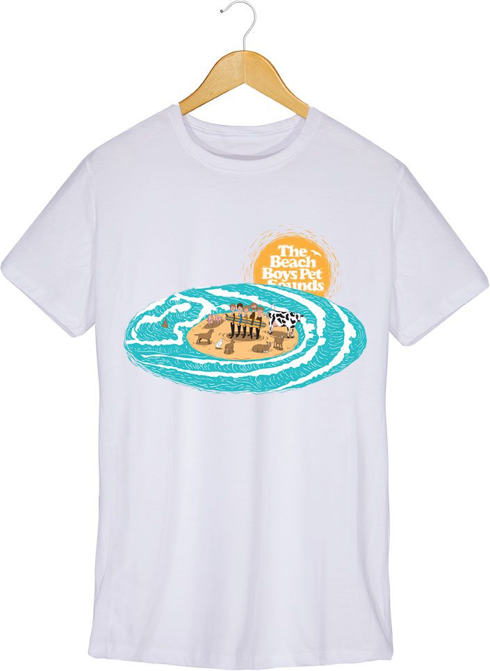 Camiseta - Pet Sounds - The Beach Boys - Masculina