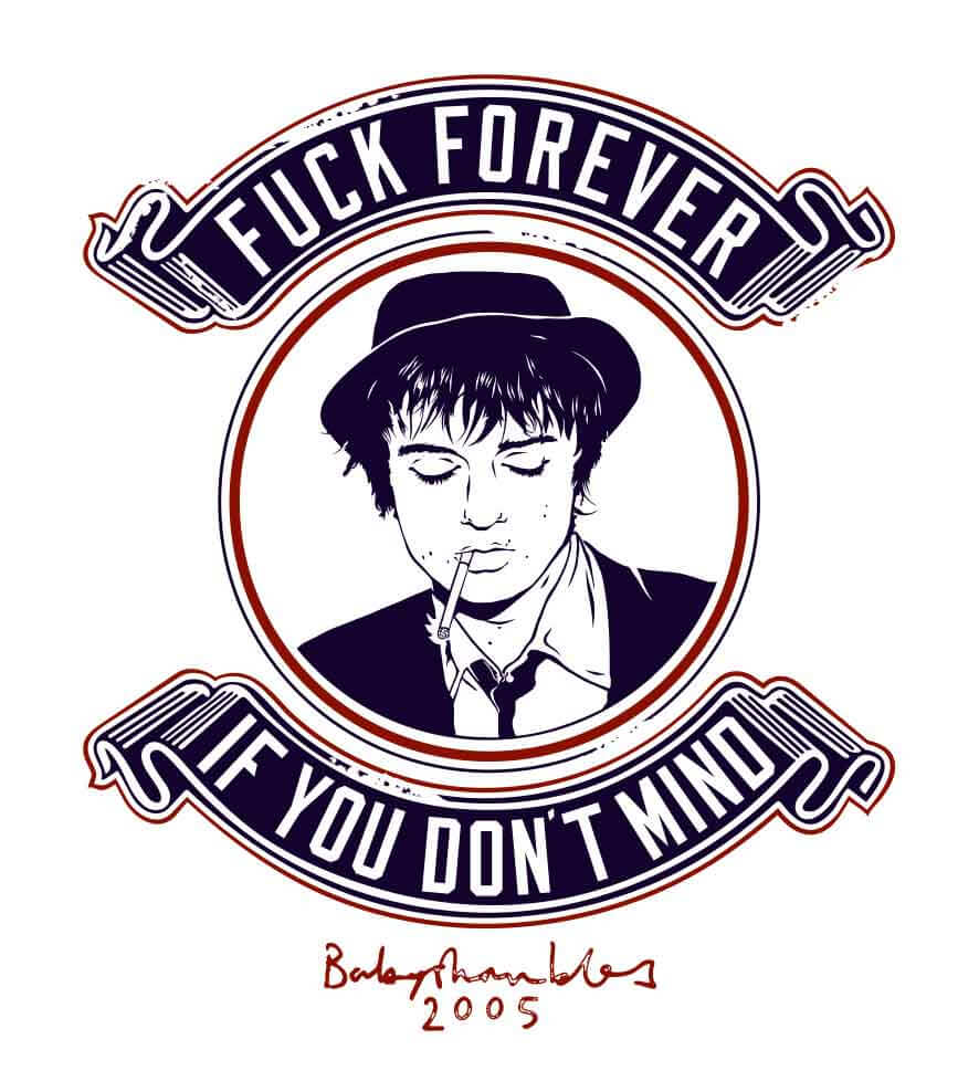 Camiseta - Fuck Forever - Pete Doherty - Masculino