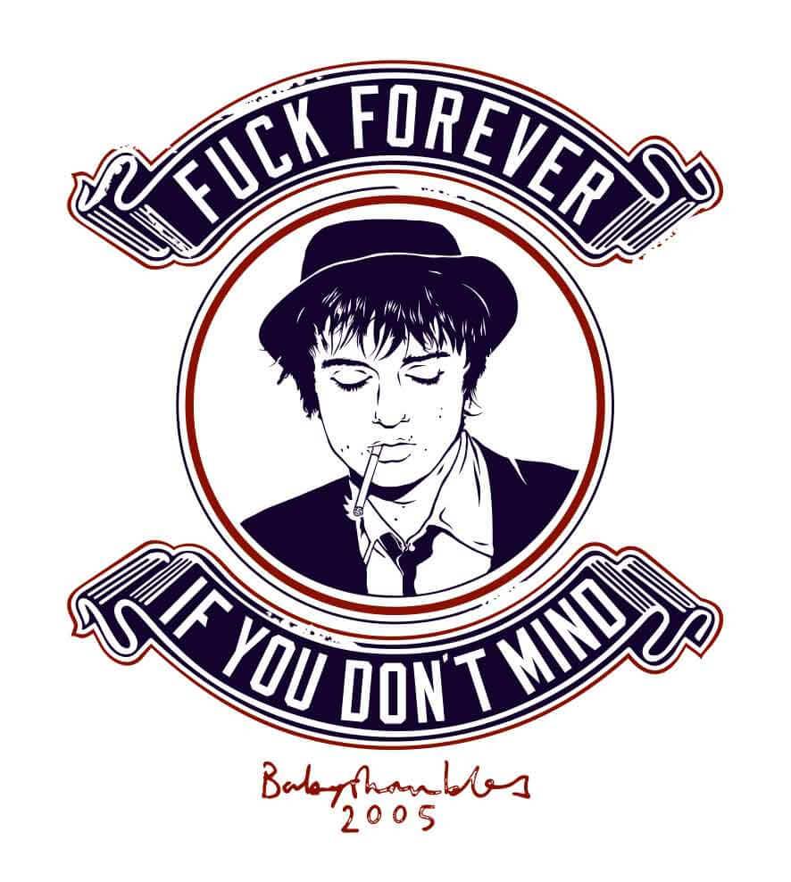 Camiseta Fuck Forever - Pete Doherty - Masculino