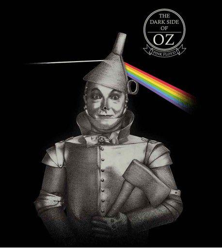 Camiseta - The Dark Side Of Oz - Pink Floyd - Feminino