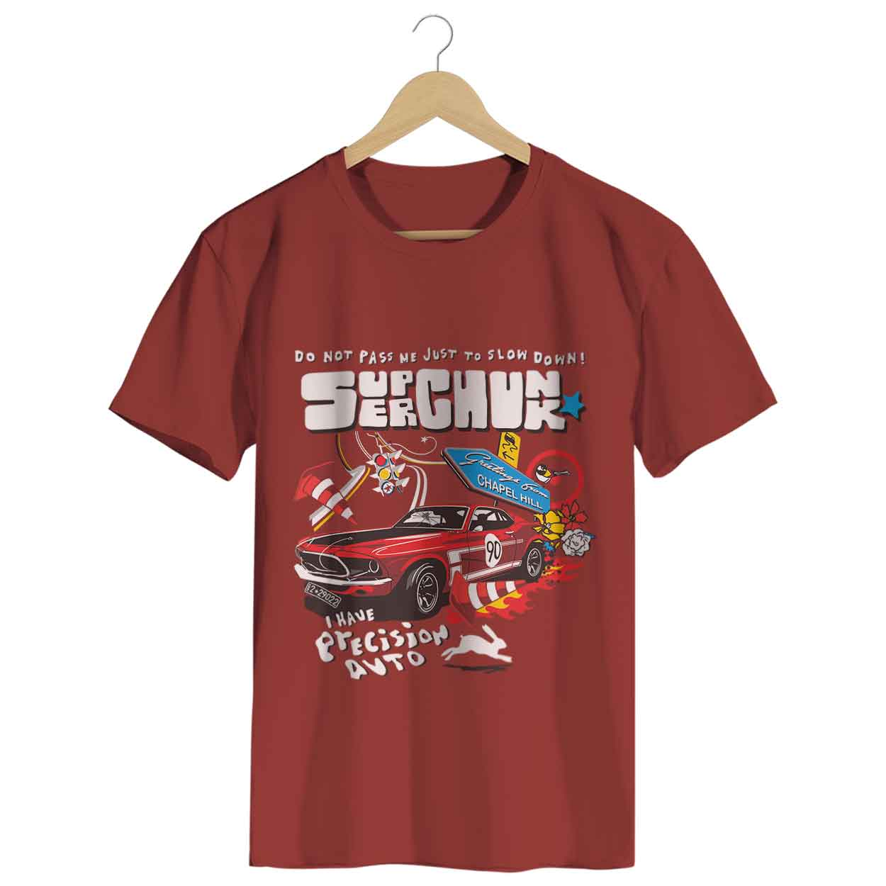 Camiseta - Precision Auto - Superchuck - Masculino