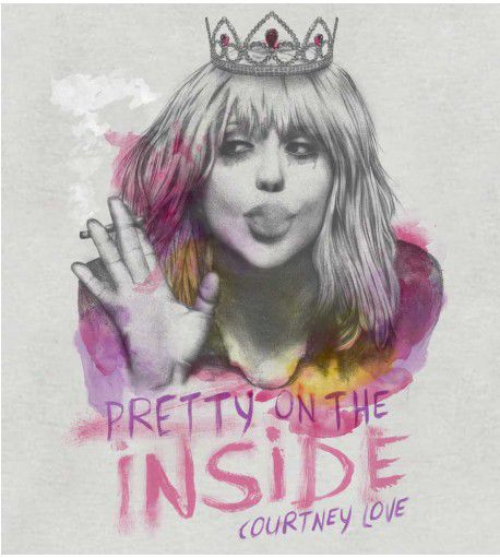 Camiseta - Pretty On The Inside - Courtney Love - Masculino