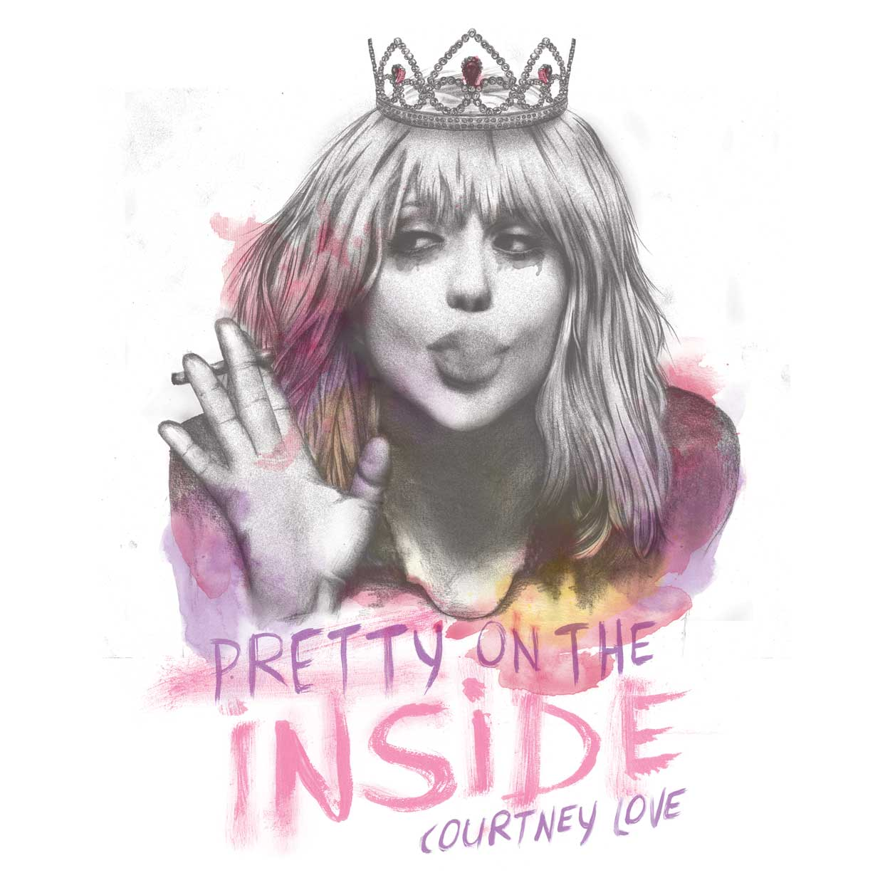 Camiseta Pretty On The Inside - Courtney Love - Masculino