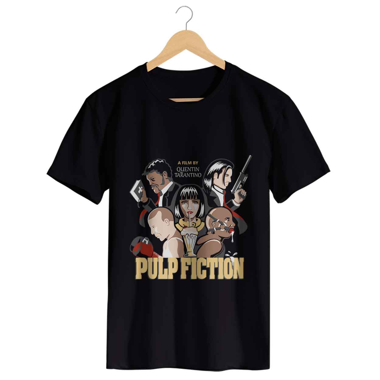 Camiseta - Pulp Fiction - Quentin Tarantino - Masculino