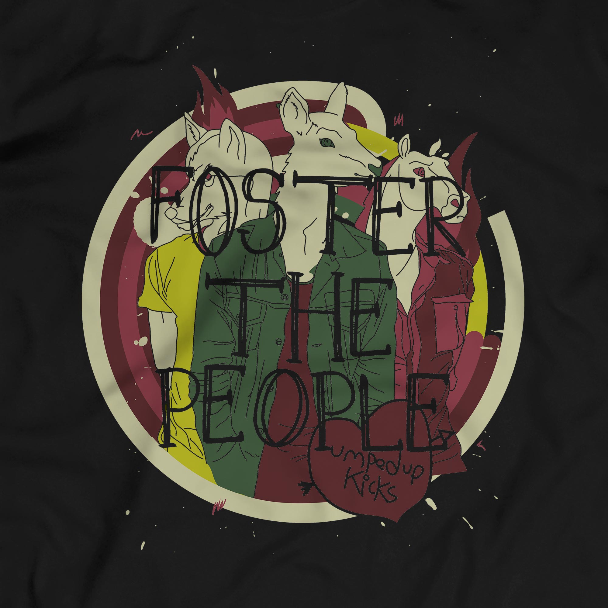 Camiseta Pumped Up Kicks - Foster The People - Masculino