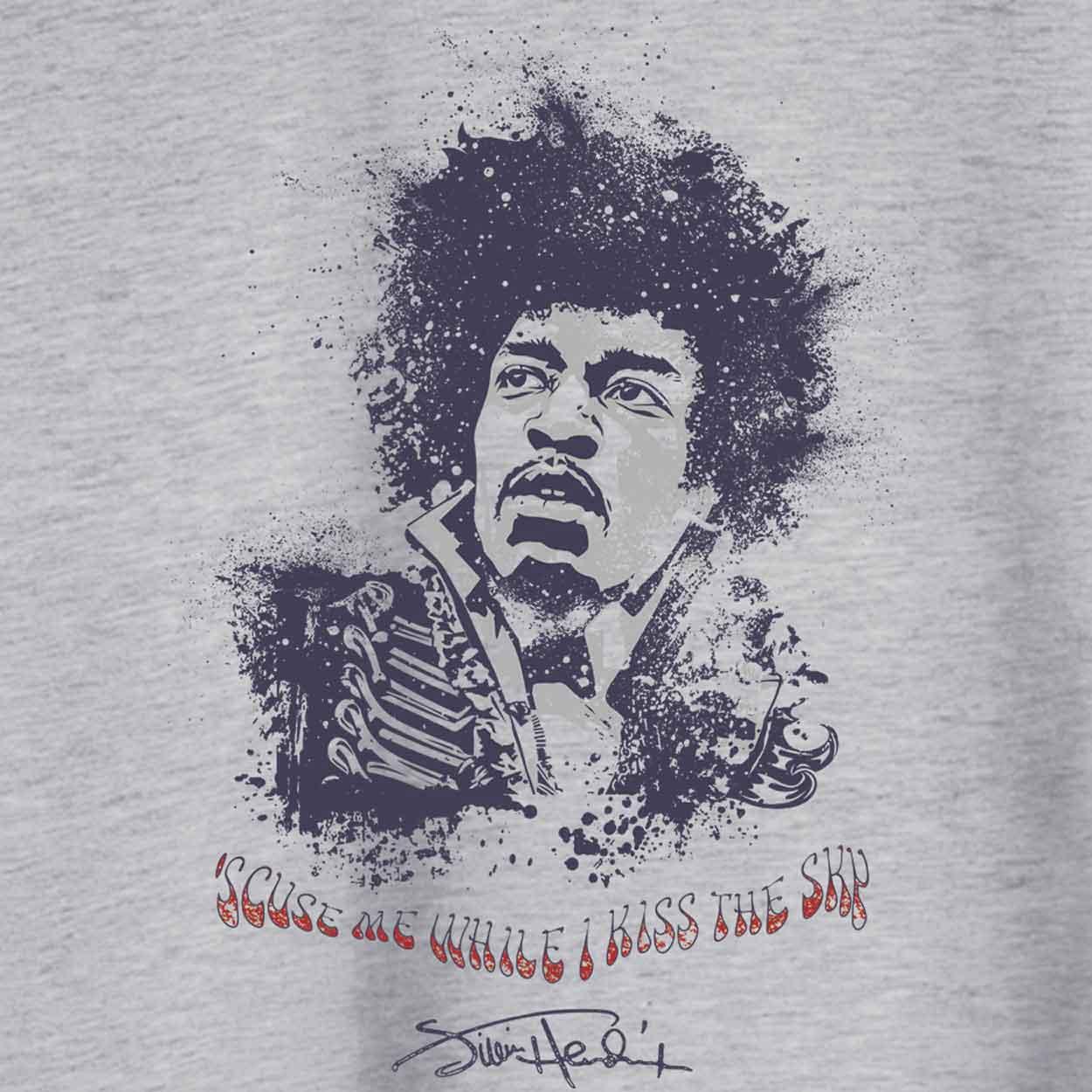 Camiseta Purple Haze - Jimi Hendrix  - Feminino