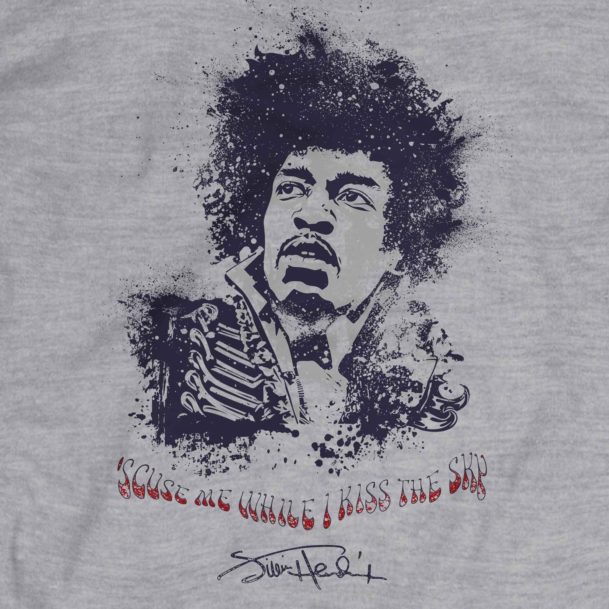 Camiseta Purple Haze - Jimi Hendrix - Masculino