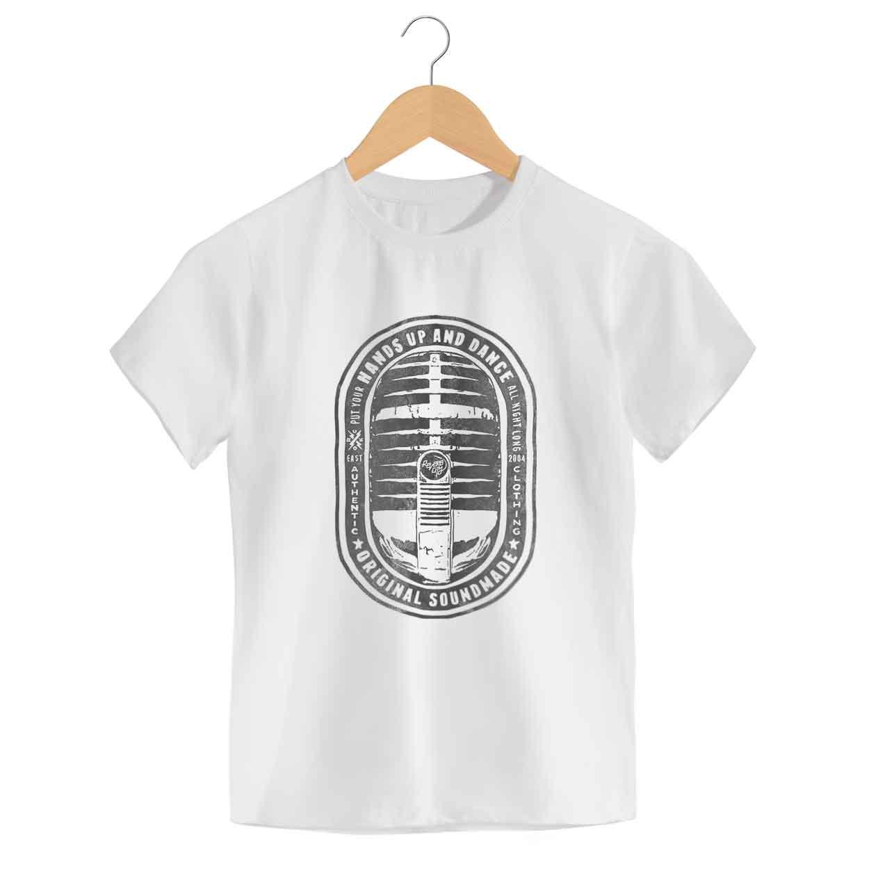 Camiseta - Put Your Hands Up - Infantil