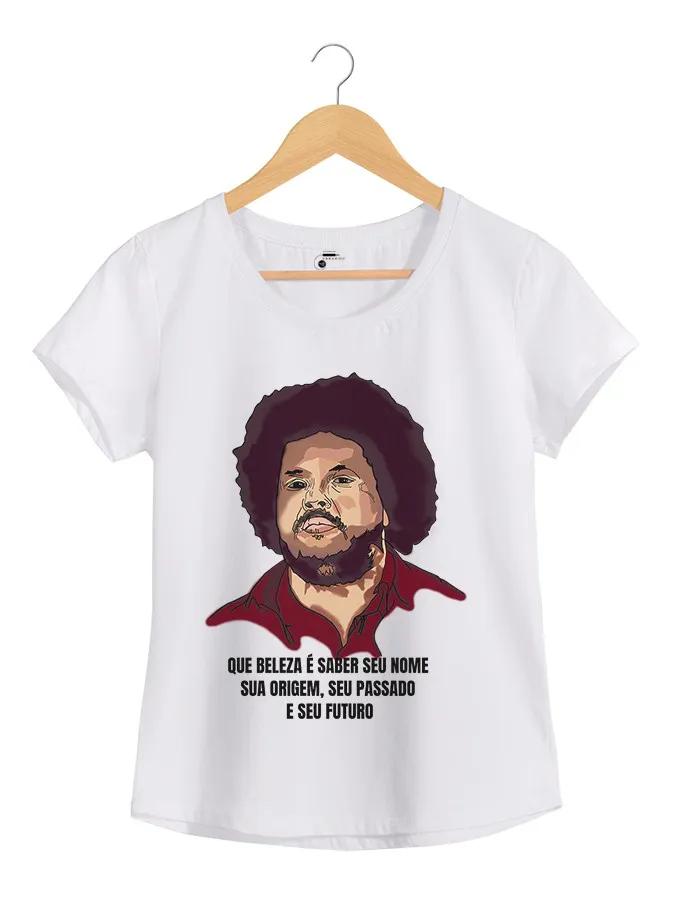 Camiseta - Que Beleza! - Tim Maia - Feminino
