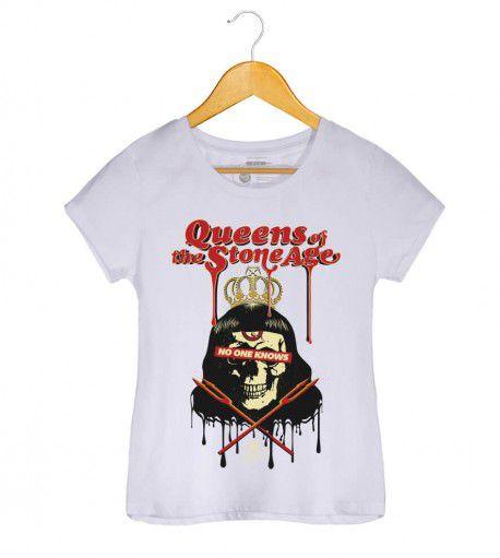 Camiseta - Queens of The Stone Age - Feminino