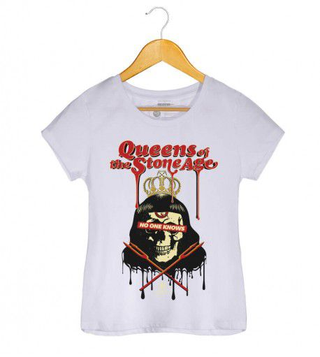 Camiseta Queens of The Stone Age - Feminino