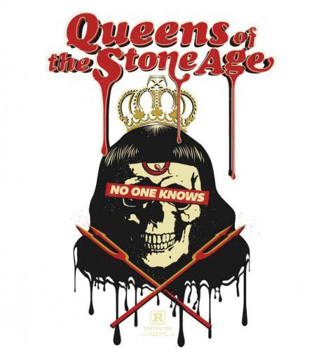 Camiseta - Queens of The Stone Age - Masculino