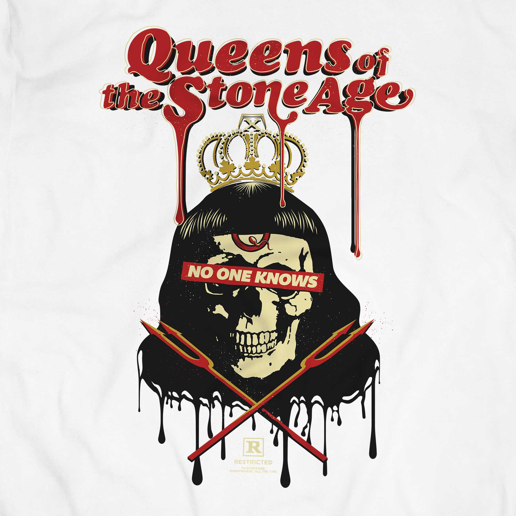 Camiseta Queens of The Stone Age - Masculino