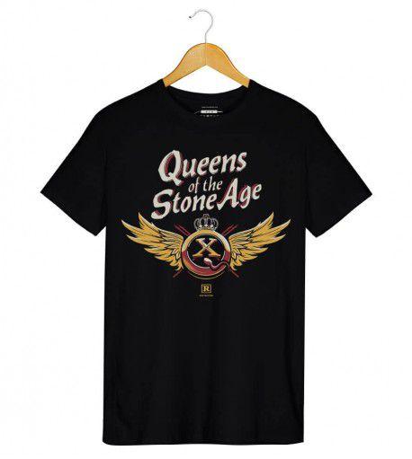 Camiseta - Queens Of The Stone Age - QOTSA X Asas - Masculino