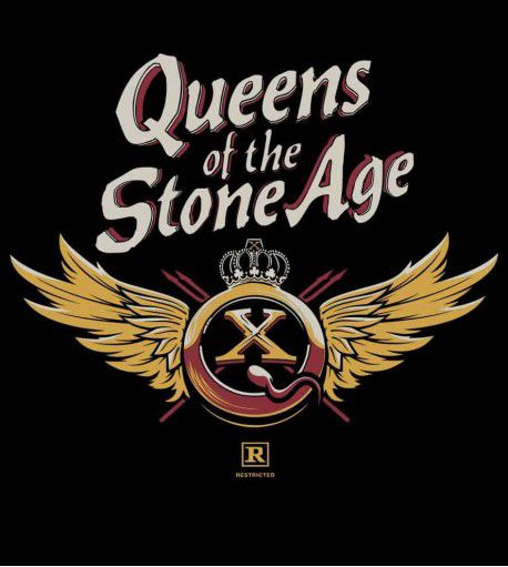 Camiseta - Queens Of The Stone Age - QOTSA X Asas - Masculino