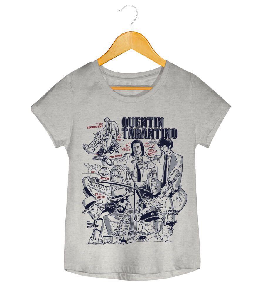 Camiseta - Quentin Tarantino - Feminino