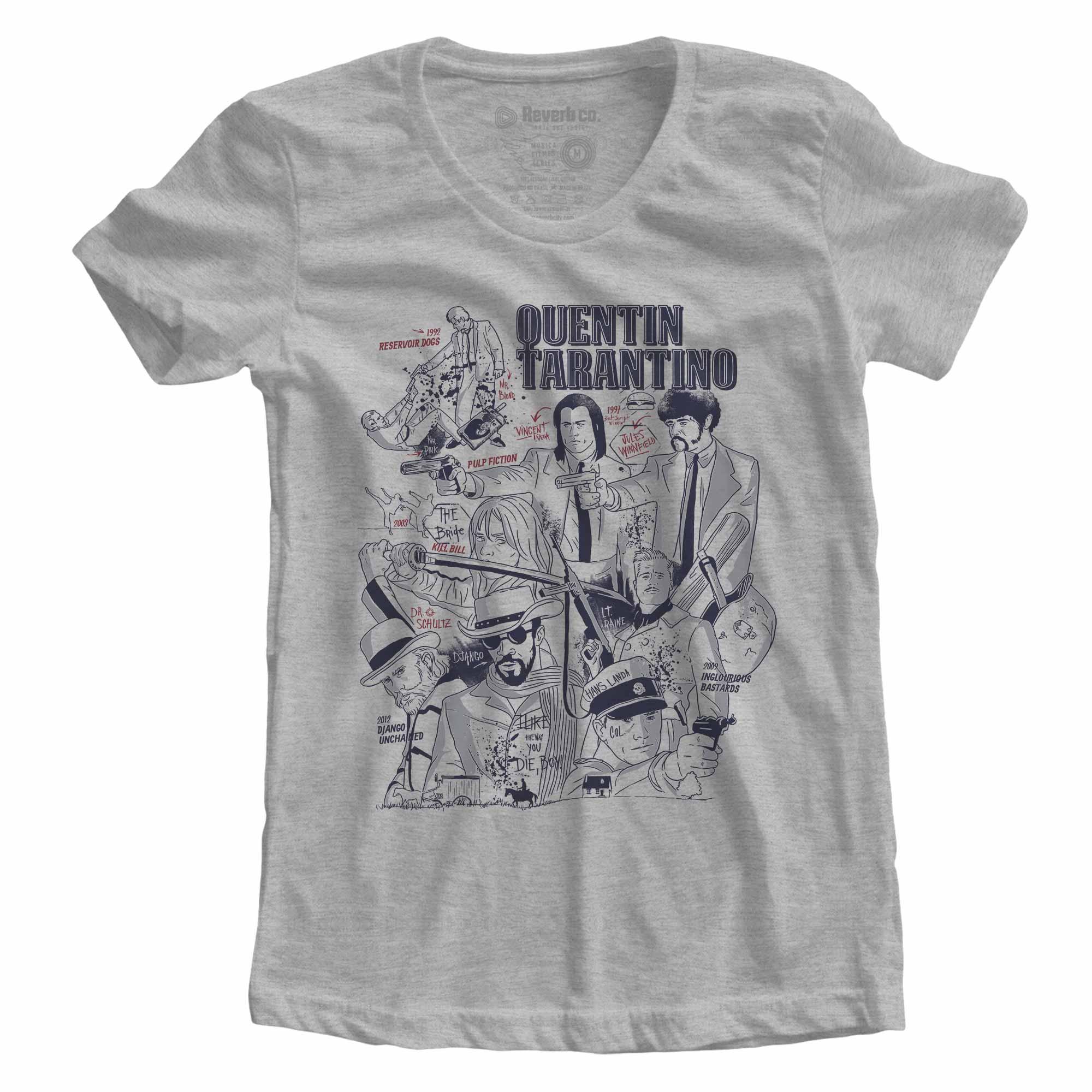Camiseta Quentin Tarantino - Feminino
