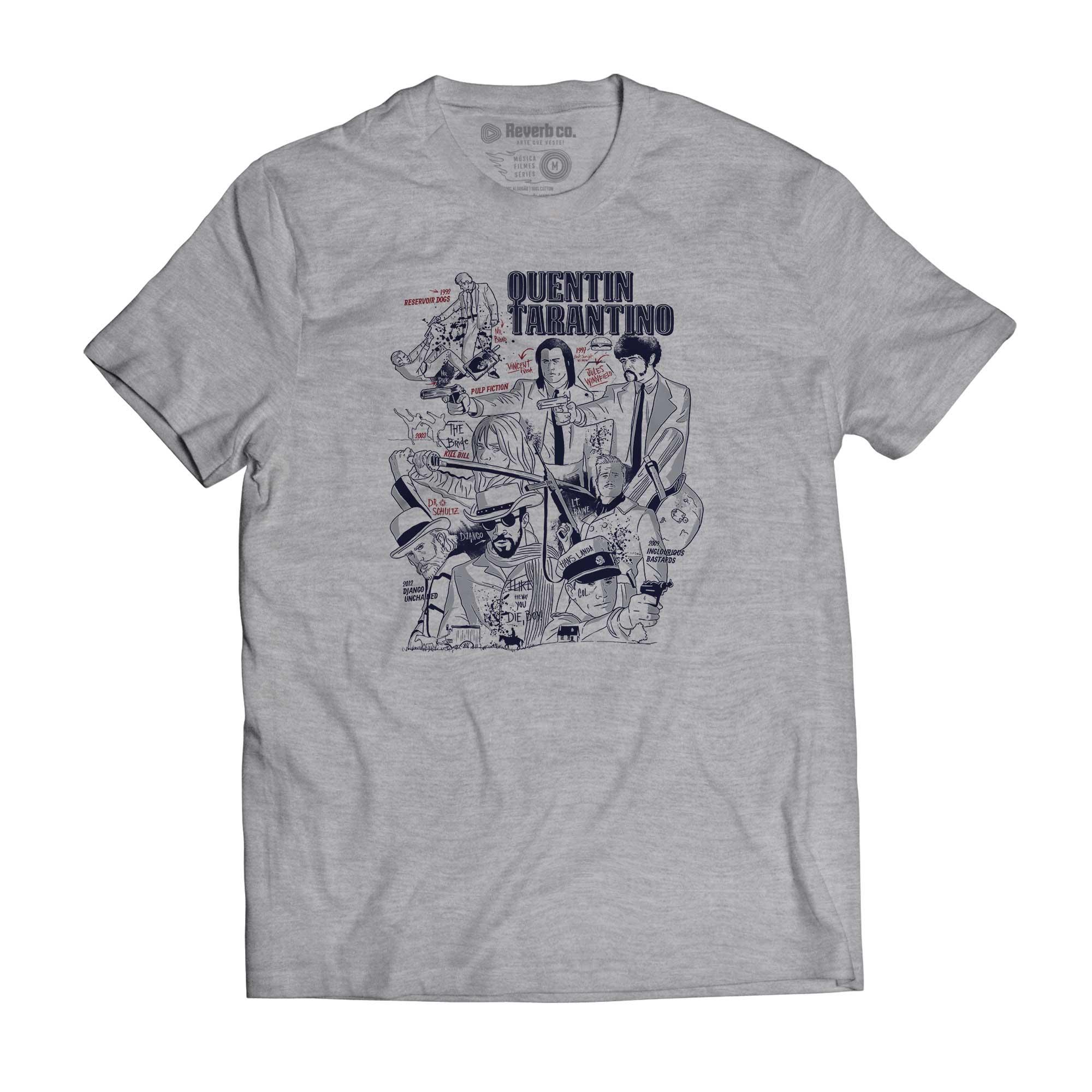 Camiseta Quentin Tarantino - Masculino