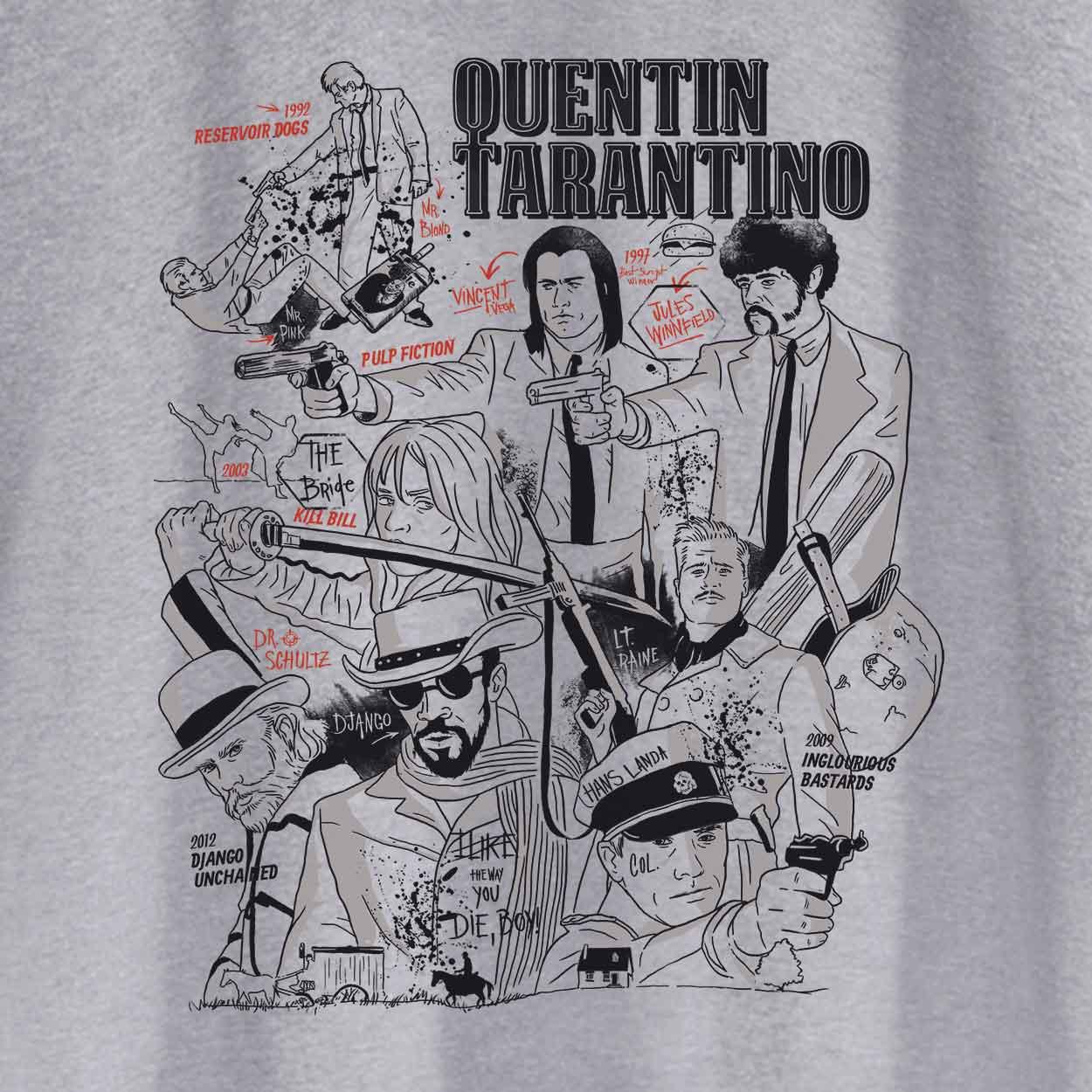 Camiseta - Quentin Tarantino - Masculino