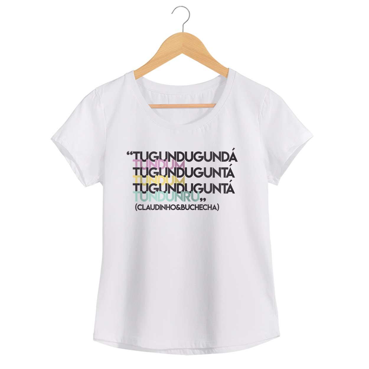 Camiseta - Quero te encontrar - Claudinho & Buchecha - Feminino