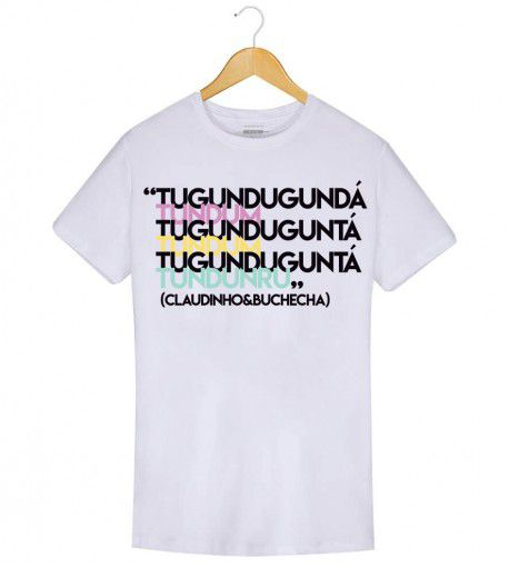 Camiseta - Quero te encontrar - Claudinho & Buchecha - Masculino