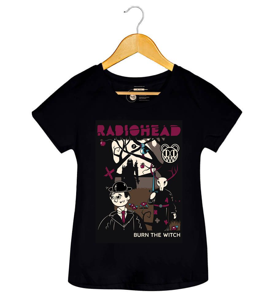 Camiseta - Burn The Witch - Radiohead - Feminino