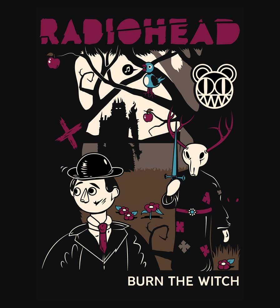 Camiseta - Burn The Witch - Radiohead - Feminino