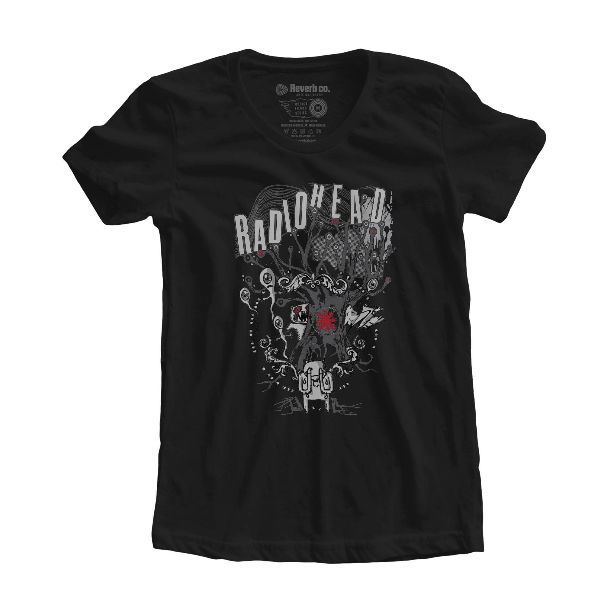 Camiseta Radiohead - Feminino