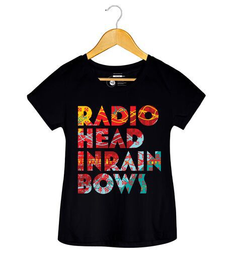 Camiseta - In Rainbows - Radiohead - Feminino