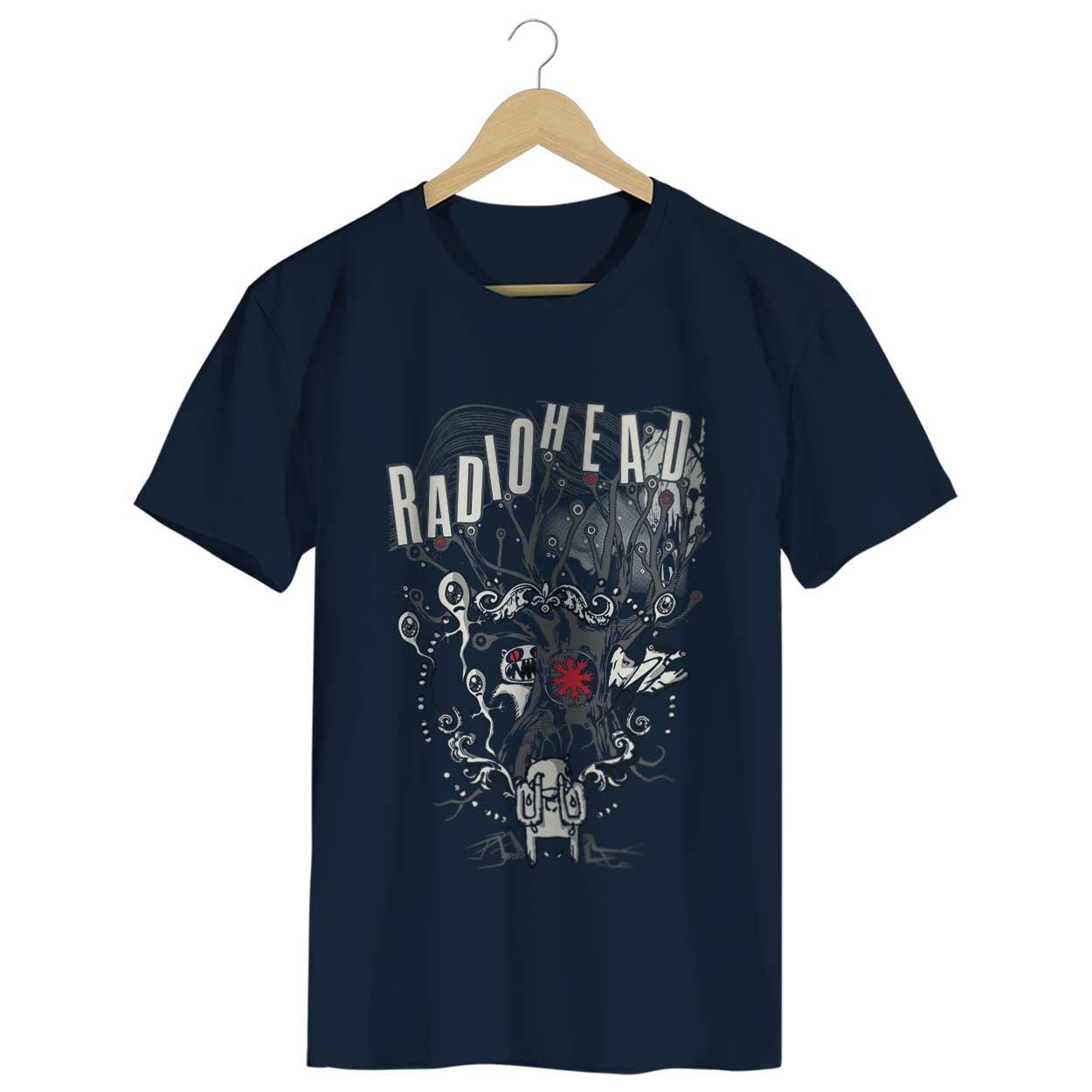 Camiseta - Radiohead - Masculino