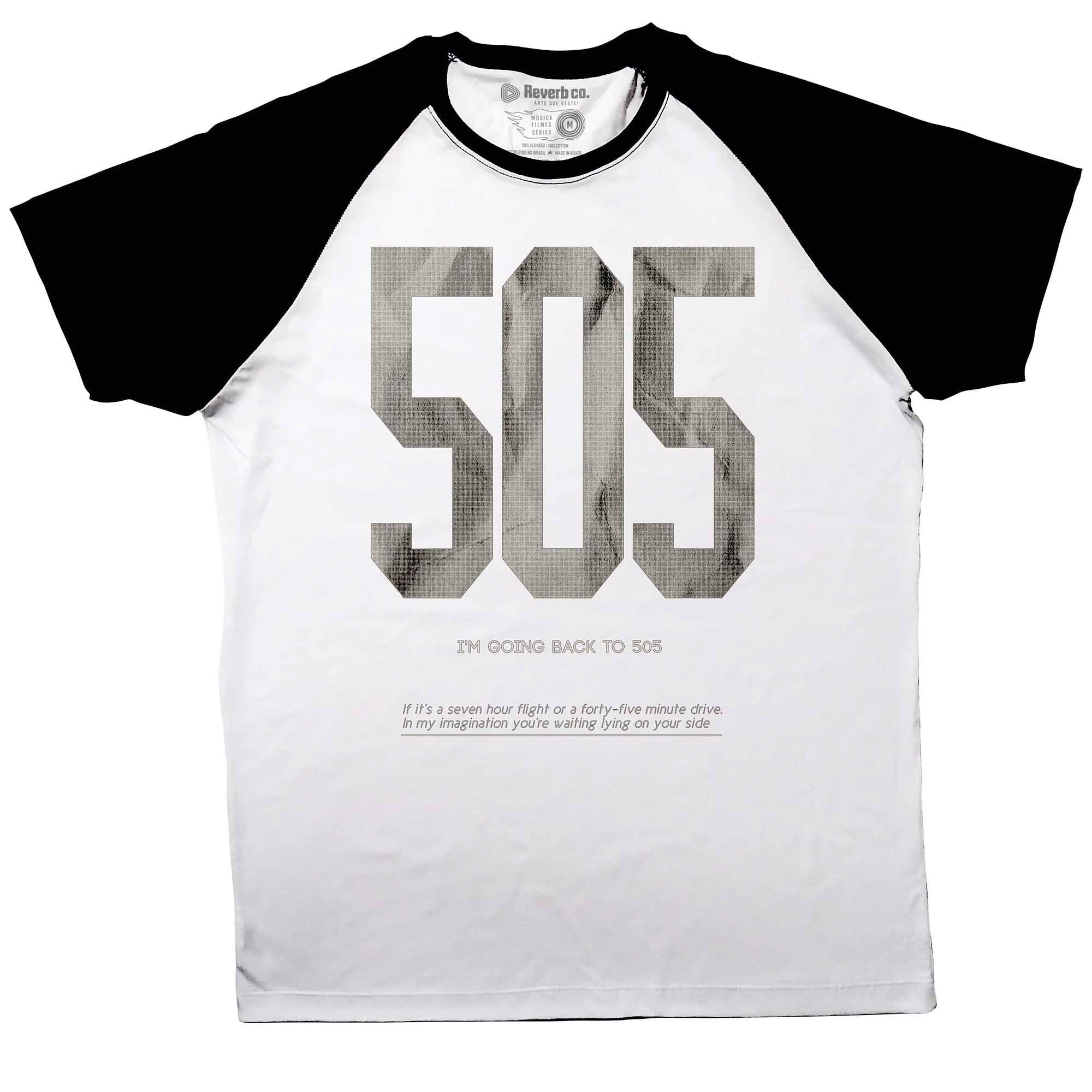 Camiseta Raglan 505 - Arctic Monkeys