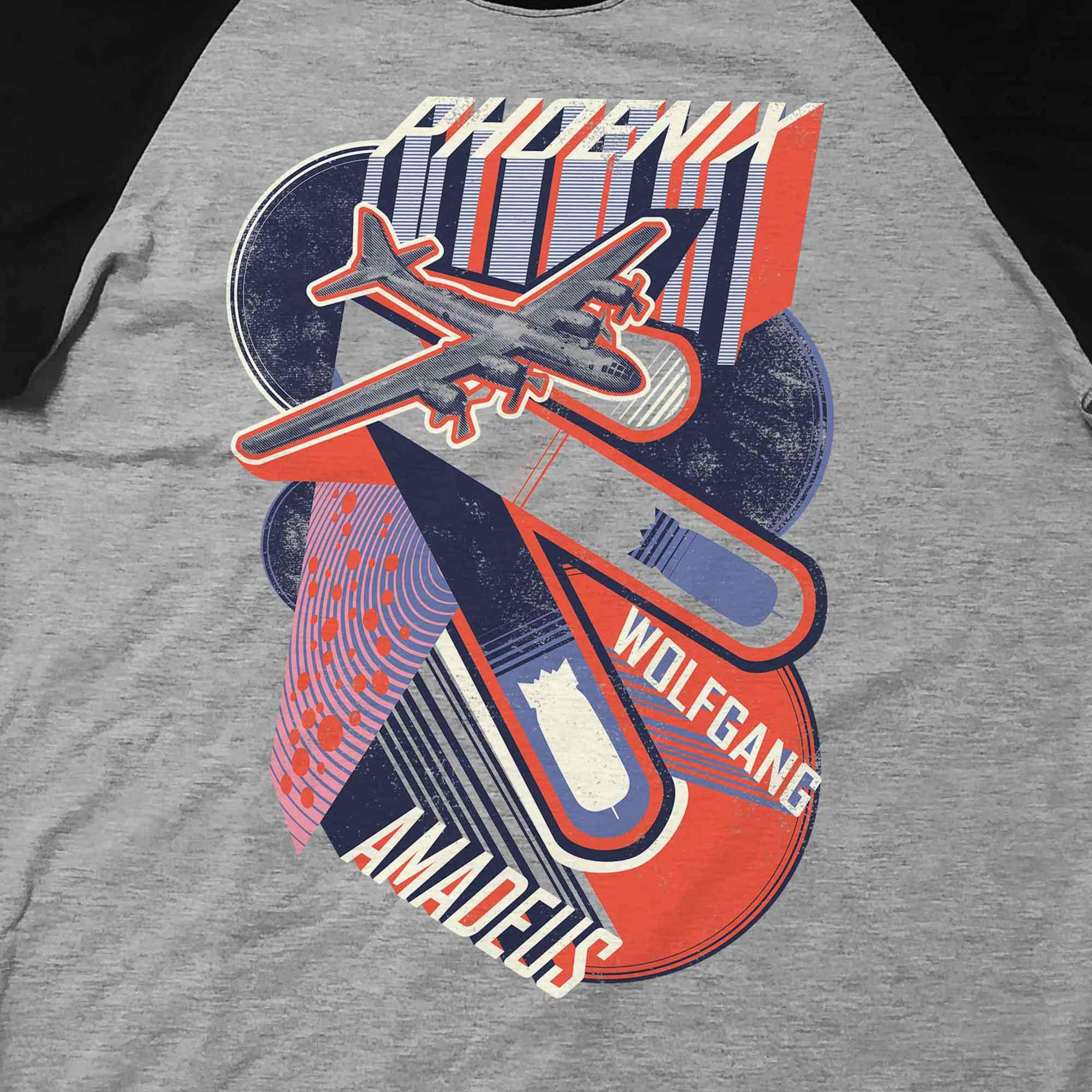 Camiseta Raglan Amadeus - Phoenix