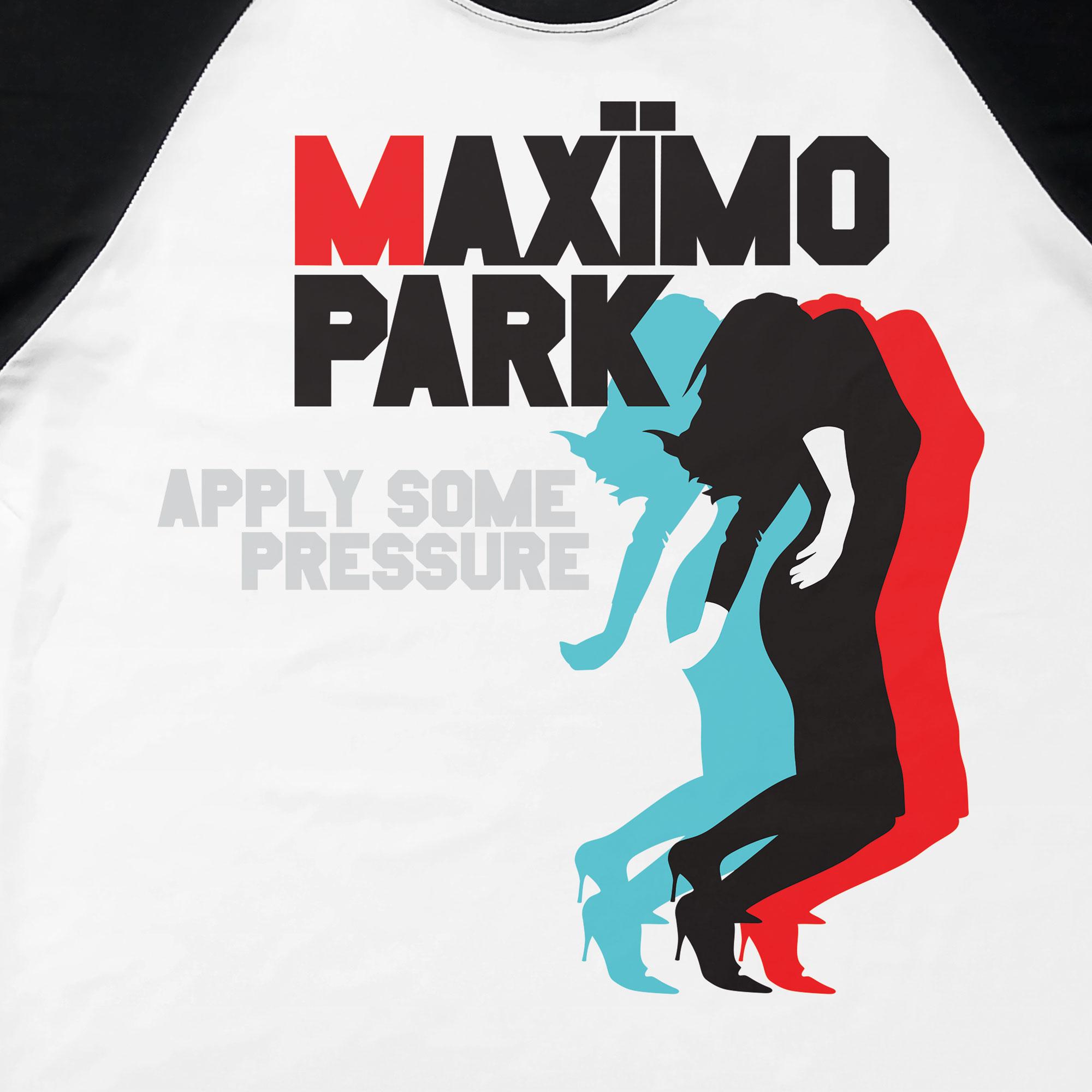 Camiseta Raglan Apply Some Pressure - Maximo Park