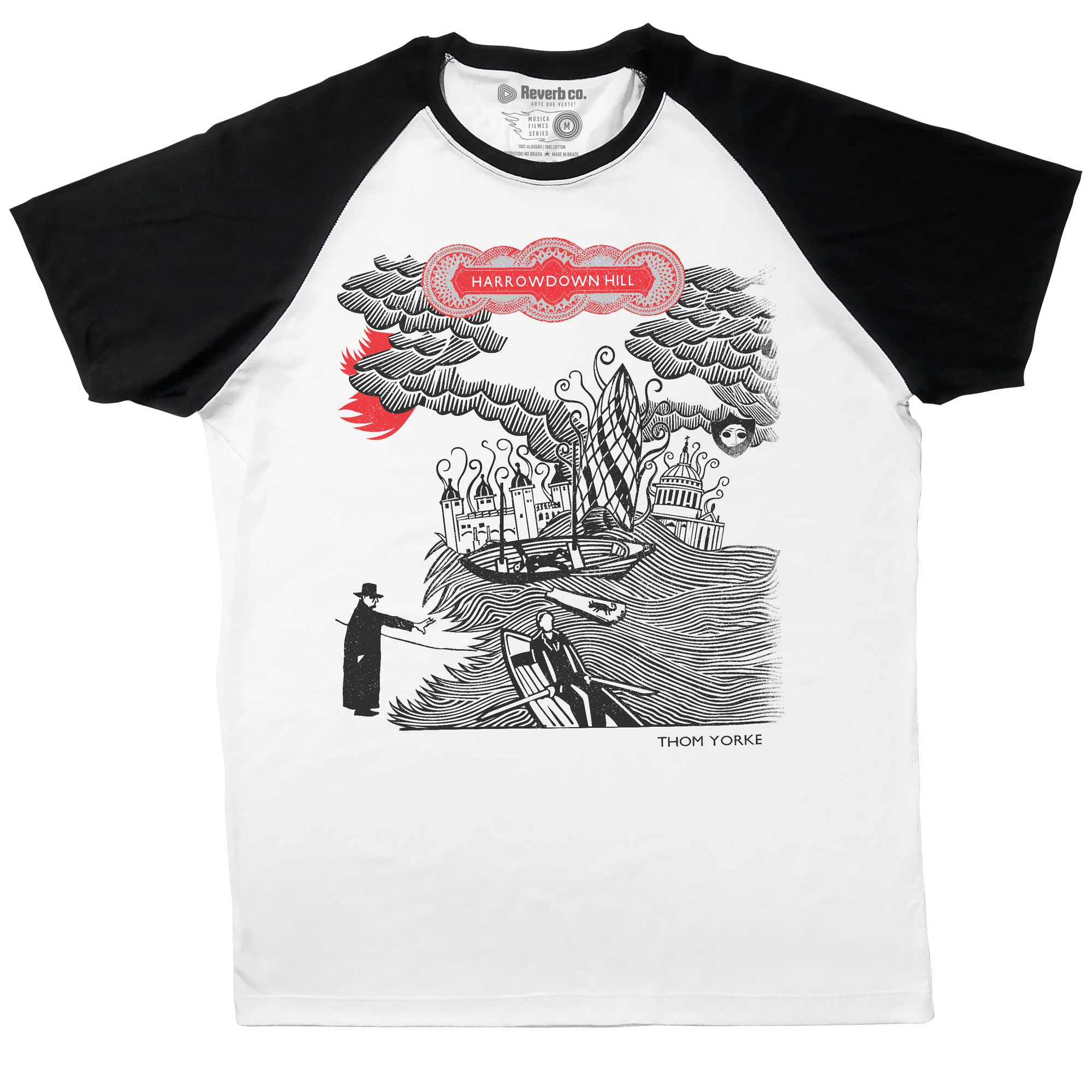 Camiseta Raglan Harrowdown Hill - Thom Yorke