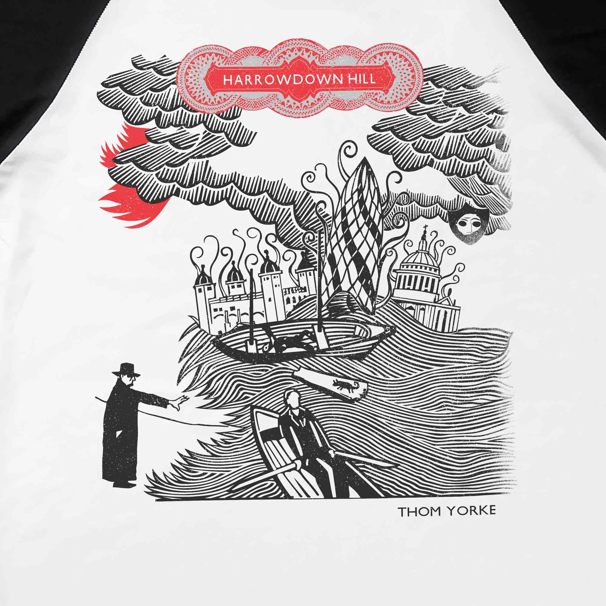 Camiseta Raglan Harrowdown Hill - Thom Yorke