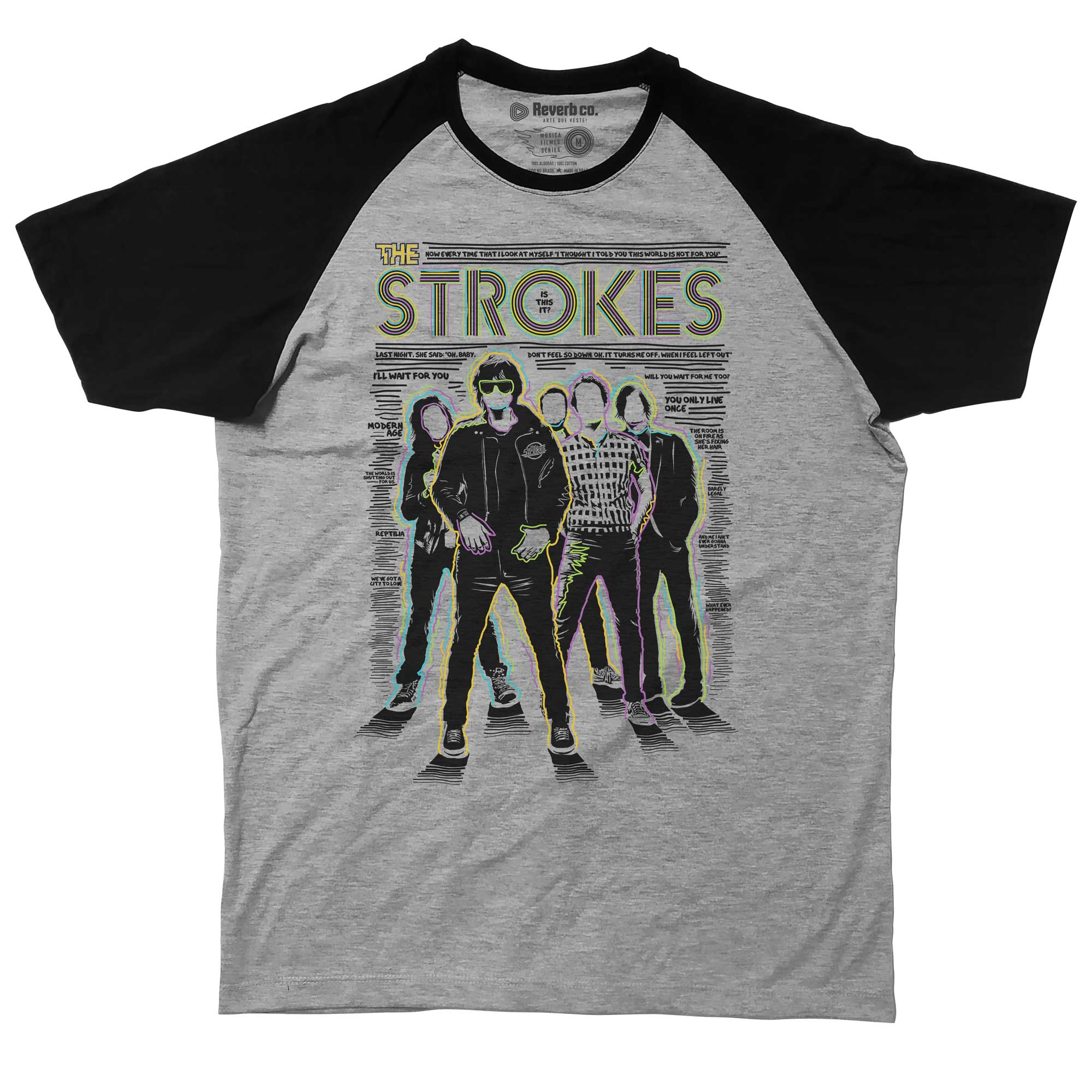 Camiseta Raglan Is This It 2 - The Strokes