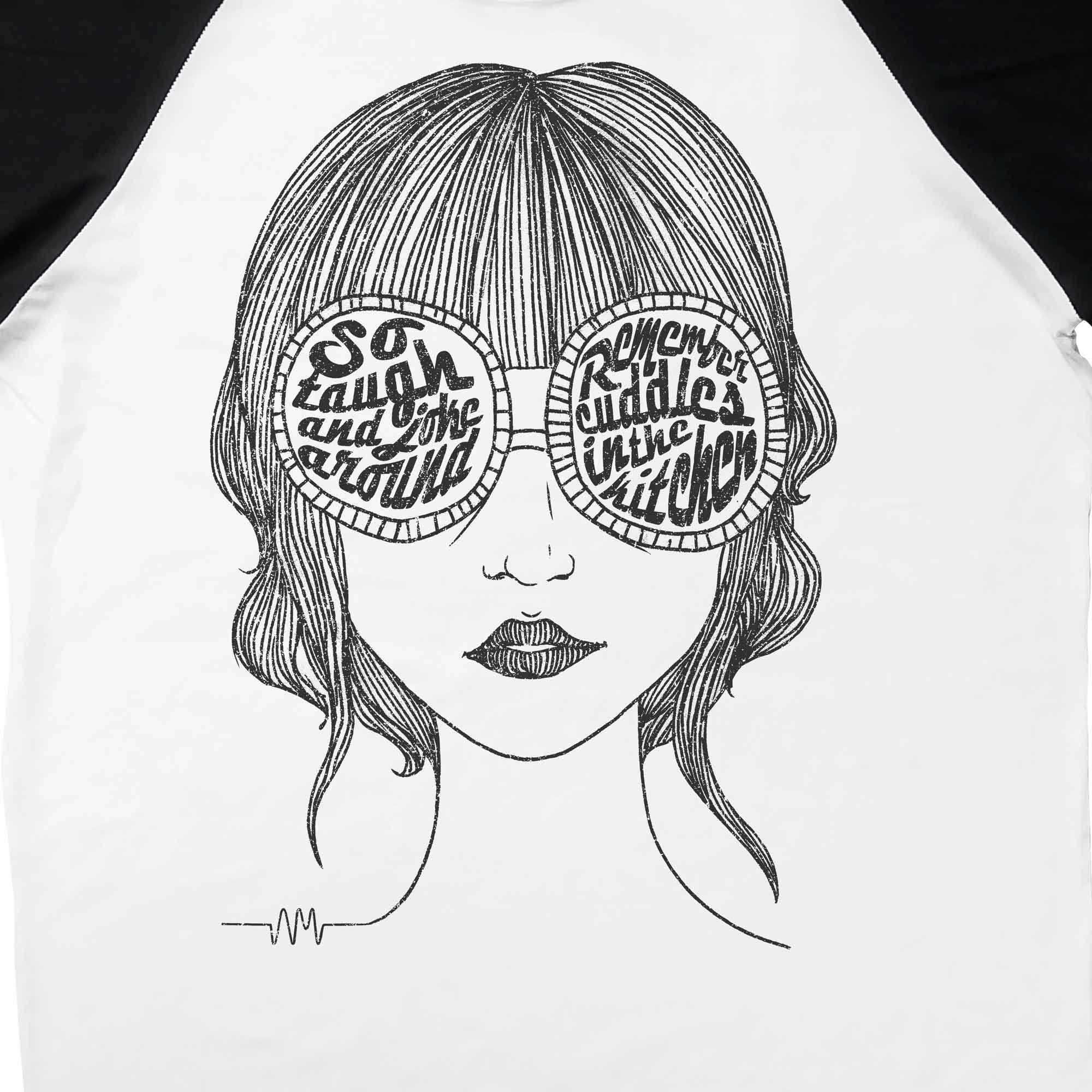 Camiseta Raglan Mardy Bum - Arctic Monkeys