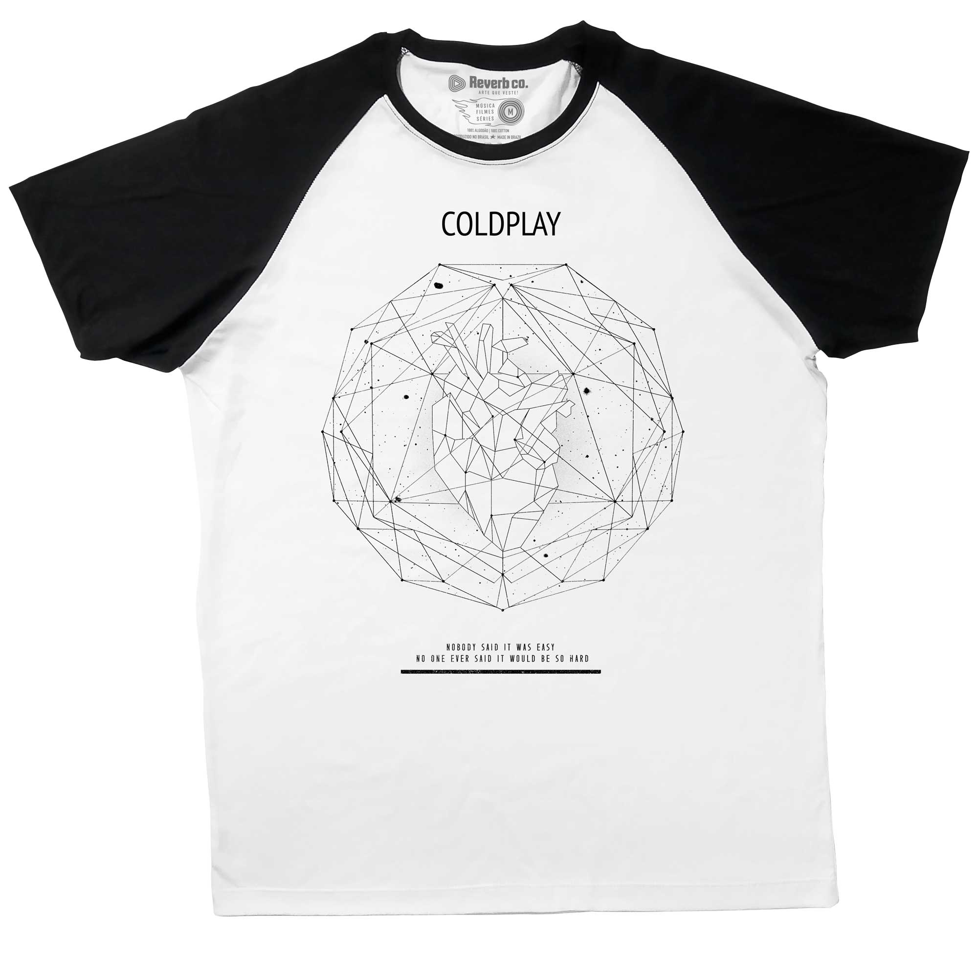 Camiseta Raglan The Scientist - Coldplay