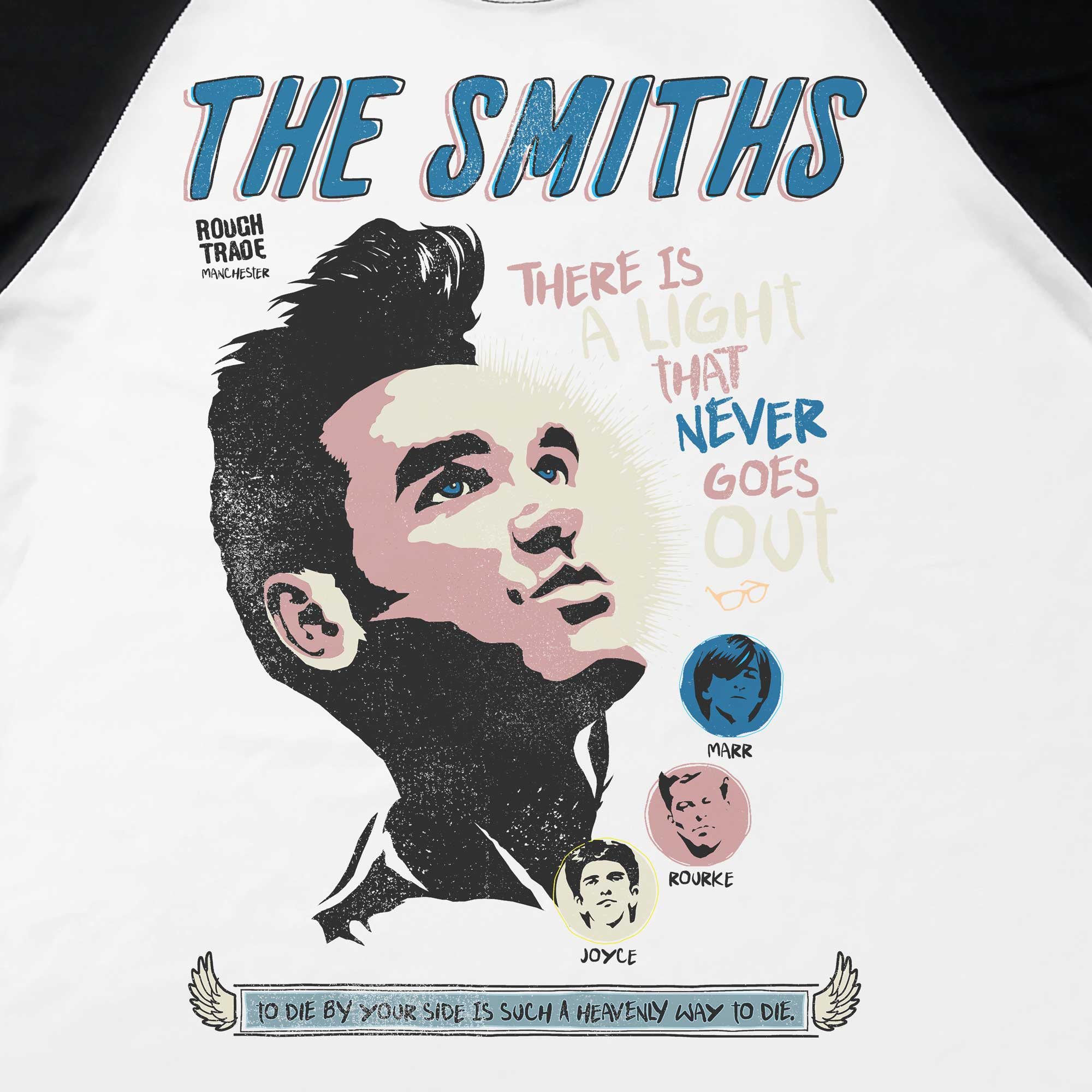 Camiseta Raglan There is a Light - The Smiths