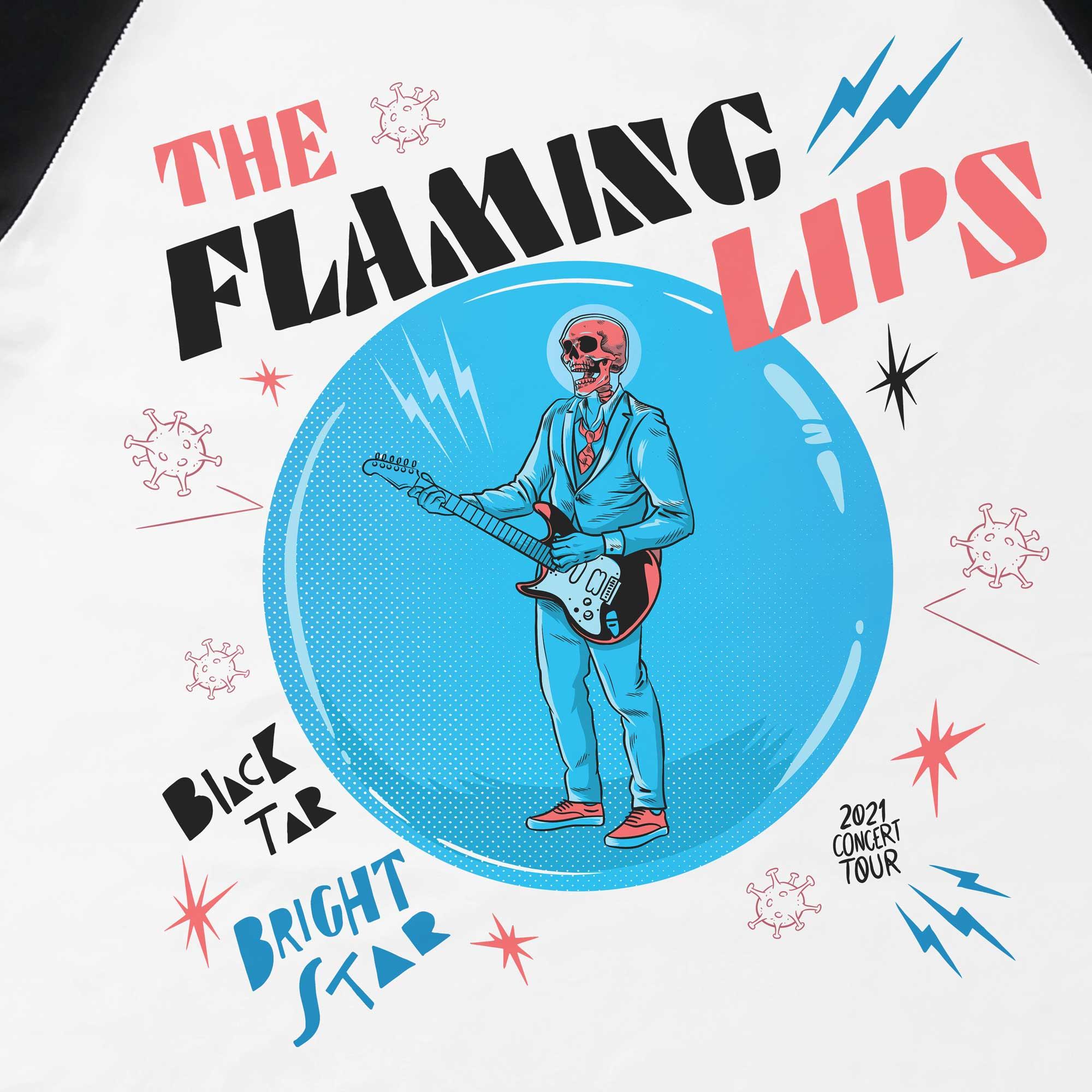 Camiseta Raglan Two - The Flaming Lips