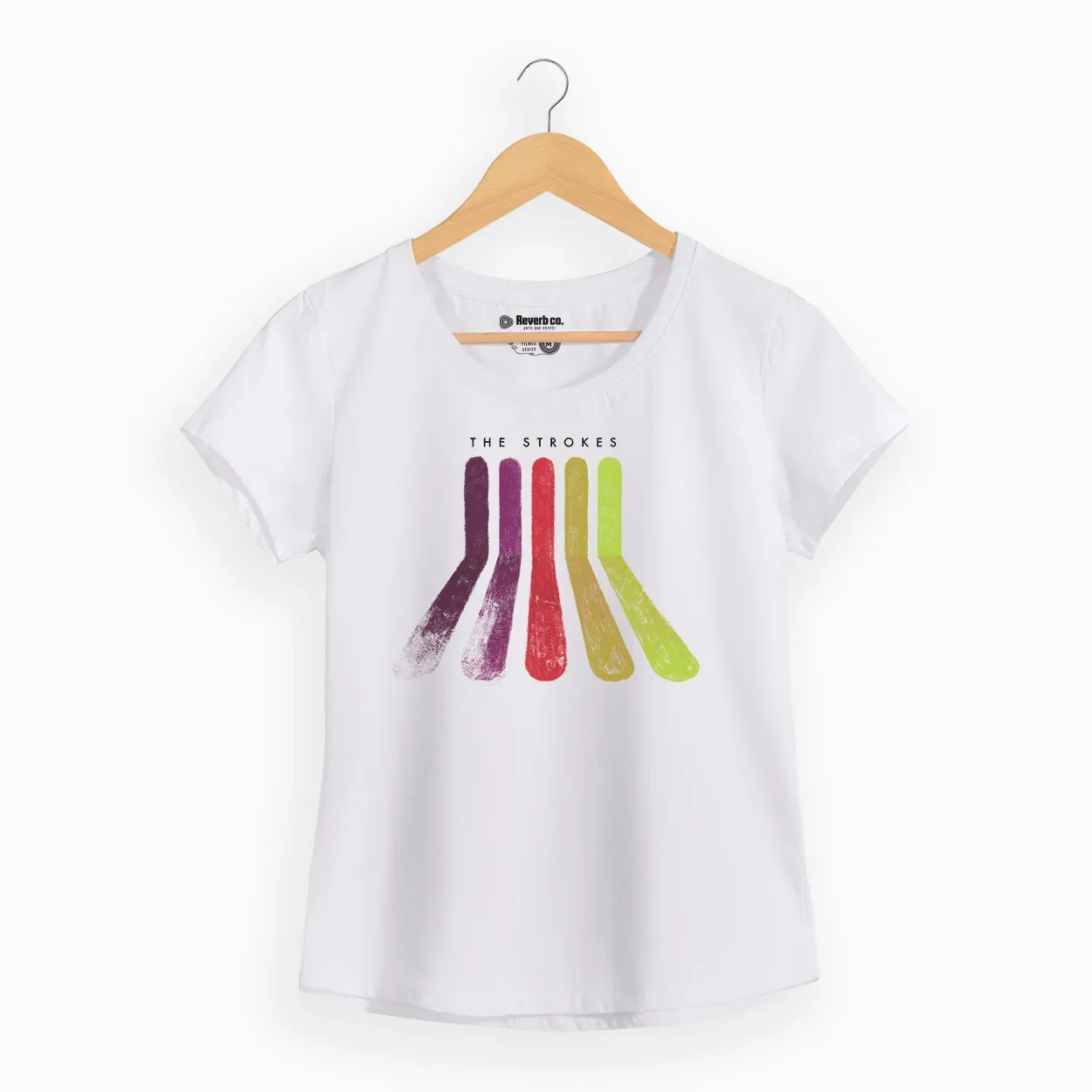 Camiseta -  Rainbow - The Strokes - Feminino