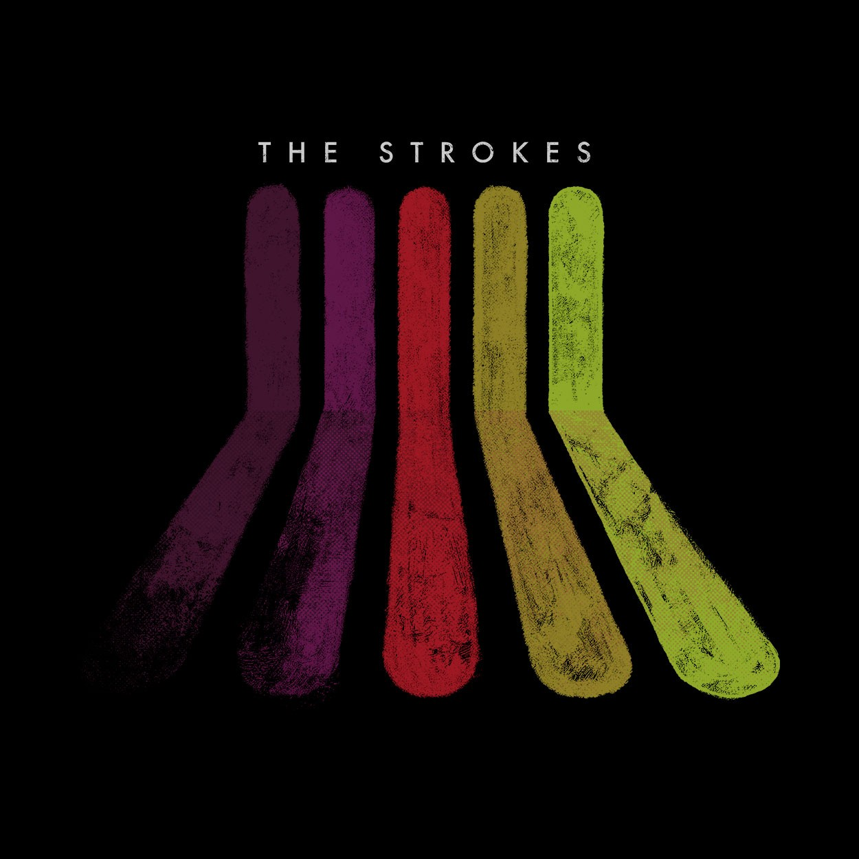 Camiseta Rainbow - The Strokes - Feminino
