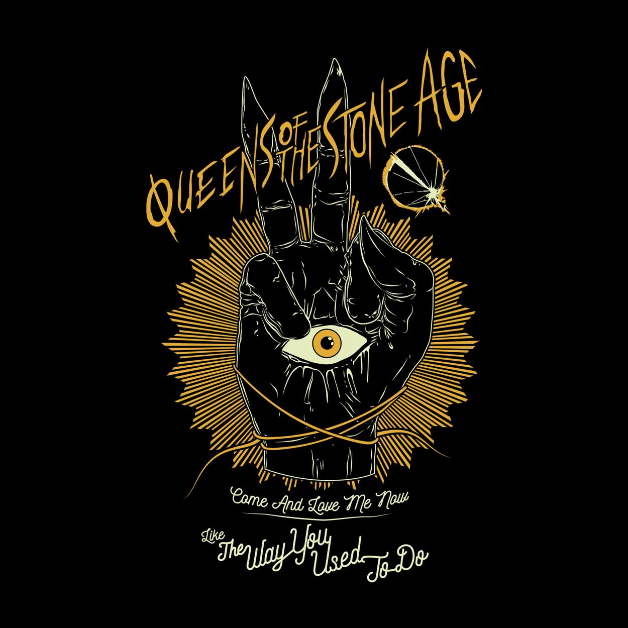 Camiseta The Way You Used to Do - Queens of the Stone Age - Masculino