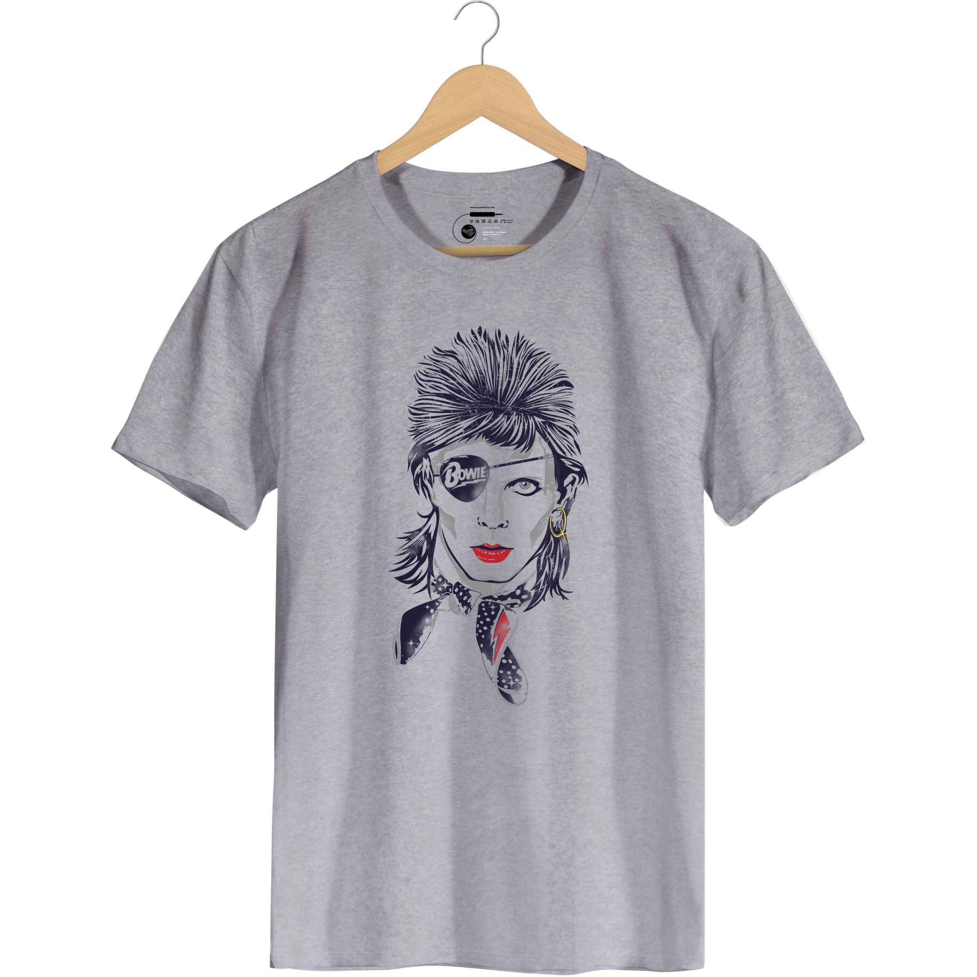 Camiseta - Rebel - David Bowie - Masculino