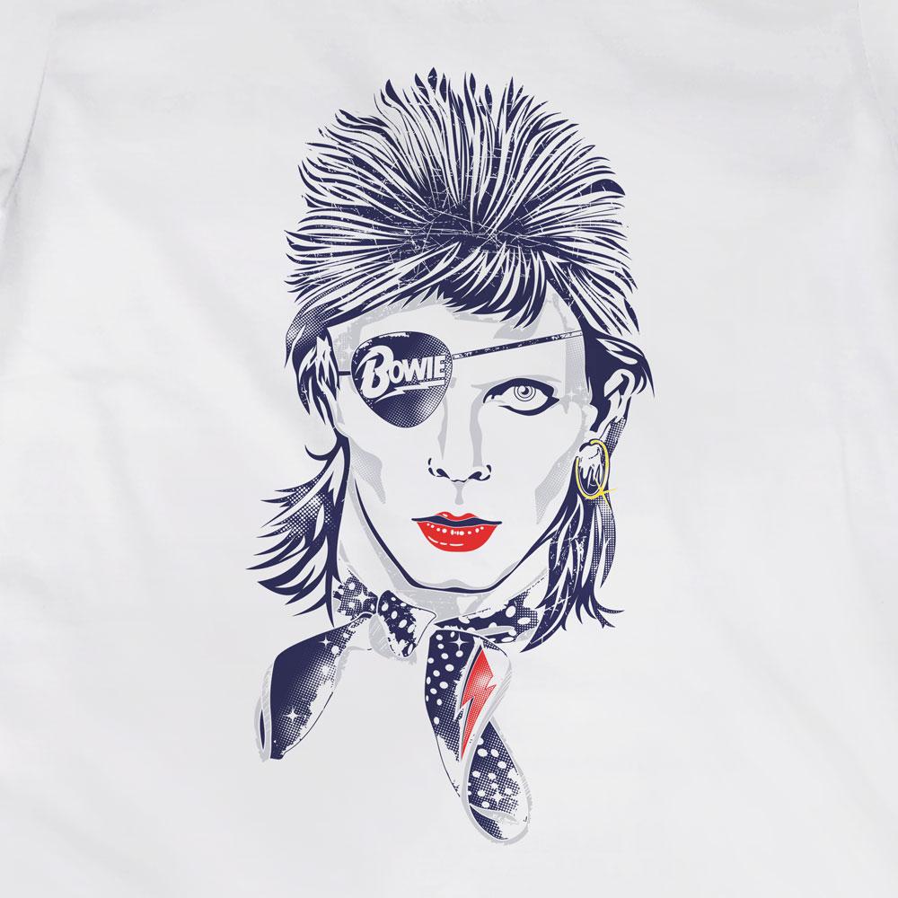 Camiseta Rebel Rebel - David Bowie - Feminino
