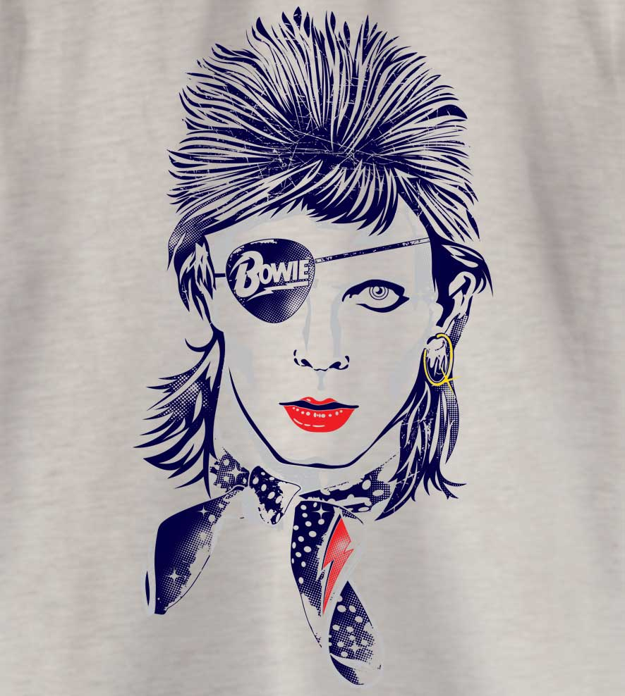 Camiseta - Rebel Rebel - David Bowie - Infantil