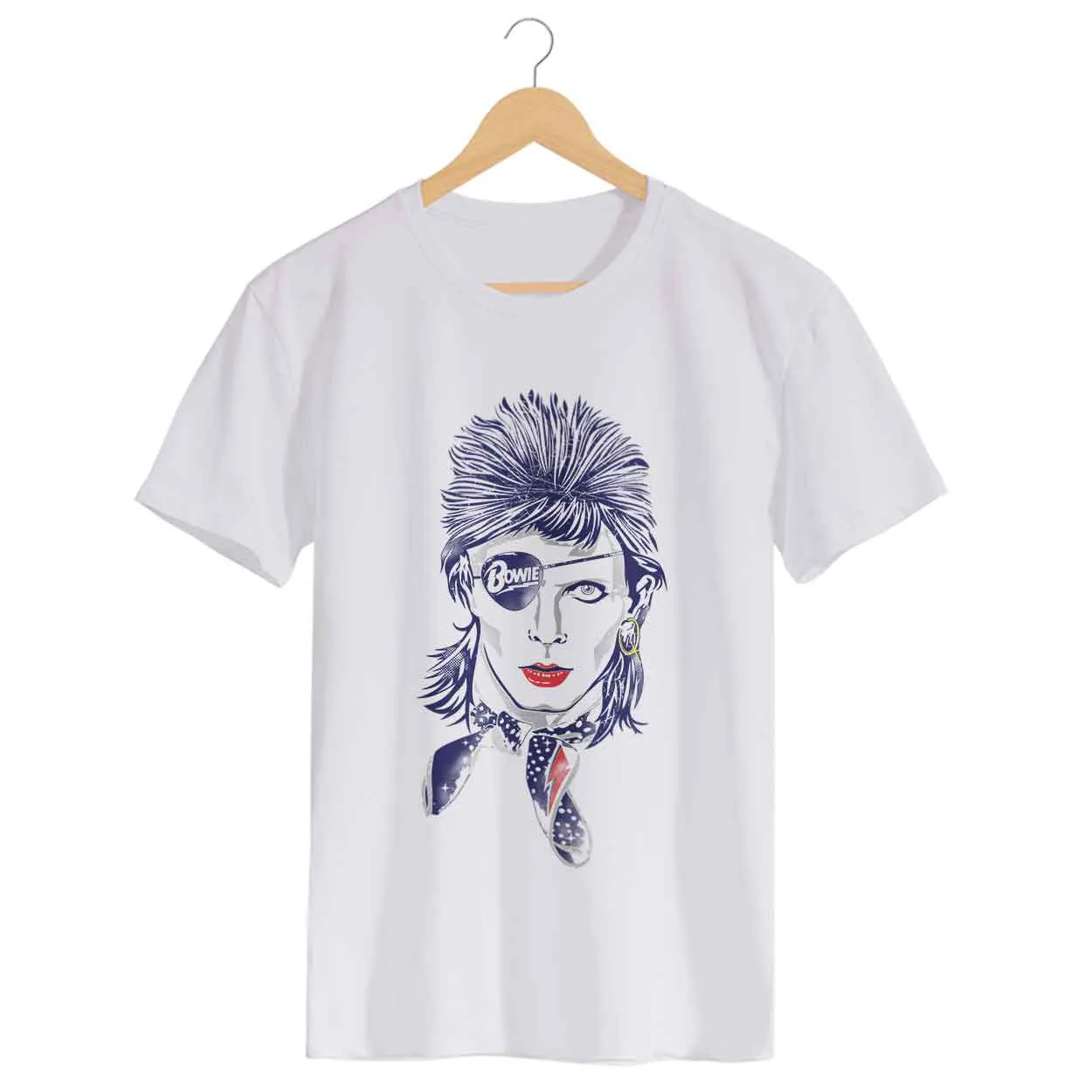 Camiseta - Rebel Rebel - David Bowie - Masculino