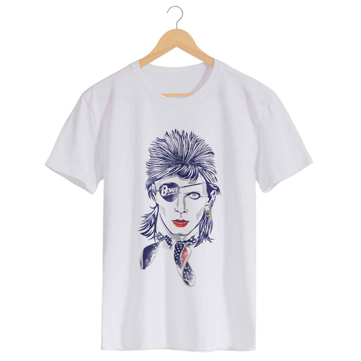 Camiseta Rebel Rebel - David Bowie - Masculino