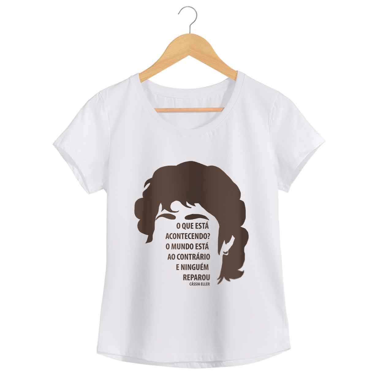 Camiseta - Relicário - Cassia Eller - Feminino