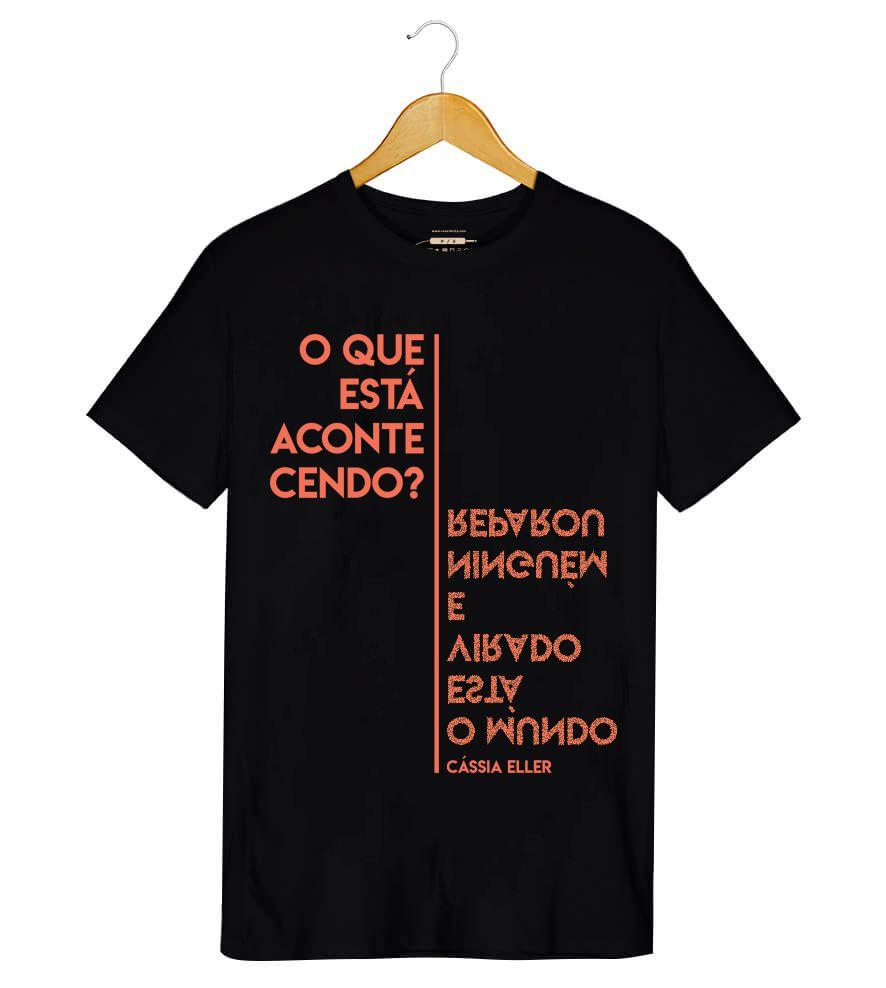 Camiseta - Relicário - Cássia Eller - Masculino